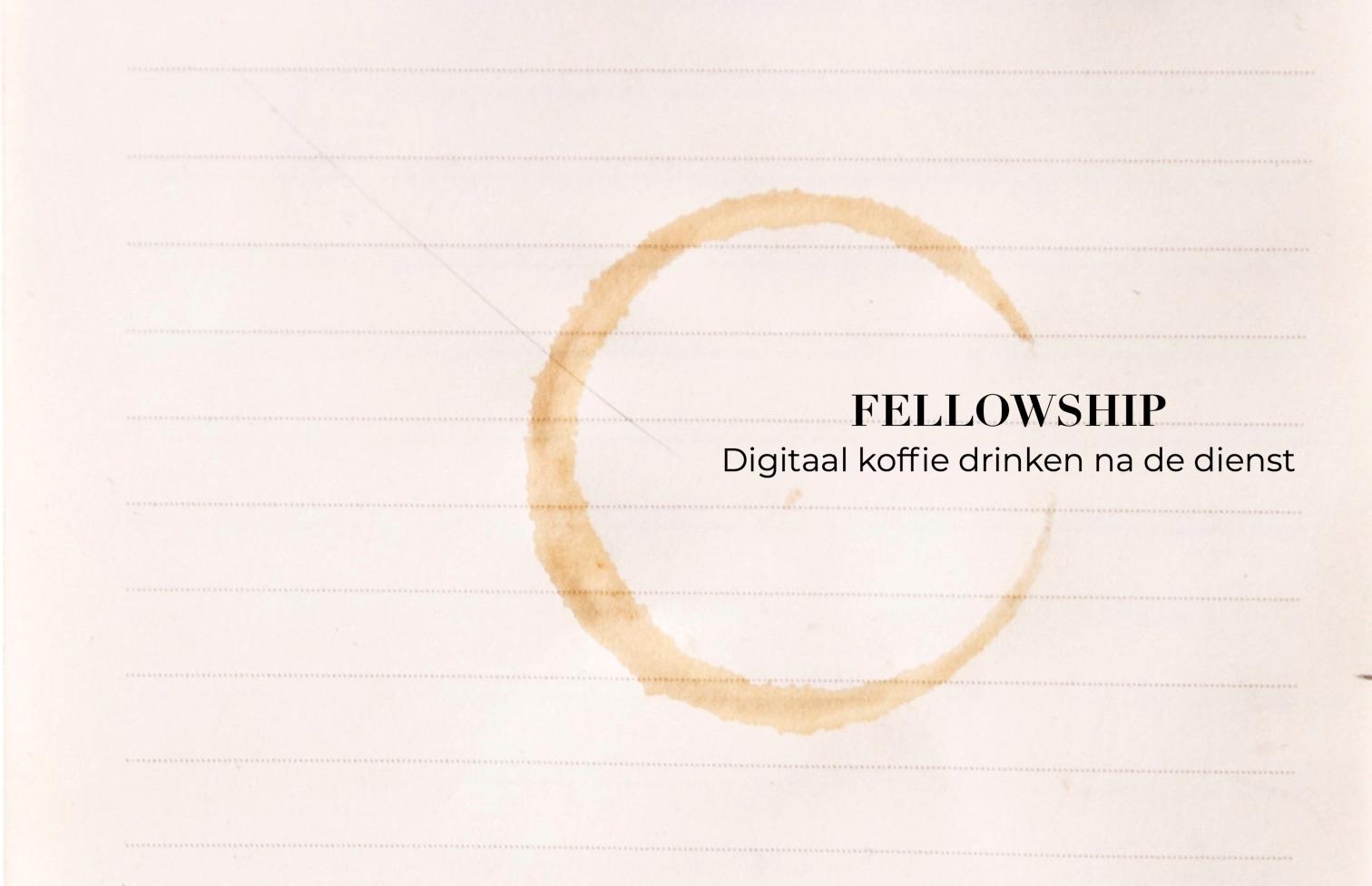 Digitaal koffiedrinken